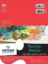 canson disposable palette