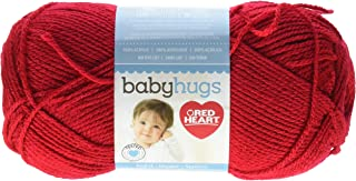 Red Heart Baby Hugs Light, Ladybug