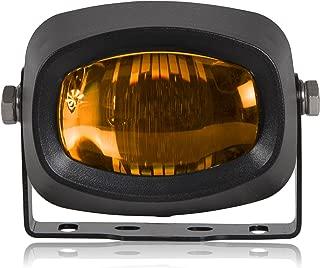 Maxxima MFL-200SY Amber Compact Mini Selective Yellow Fog Light 12/24V Black Housing