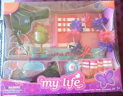 My Life as Equestrian Horse Accessory Kit by Walmart