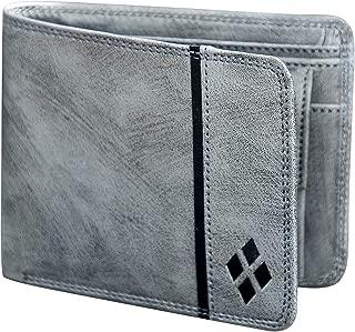 LUXIQE Men Grey Artificial Leather Wallet (WL1003GY)