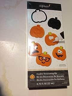 Halloween Sweet Sugarbelle Pumpkin Cookie Decorating kit