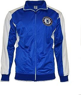 Chelsea Fc Jacket Youth Soccer Zip up Hoodie Kids New Season 2015-2016