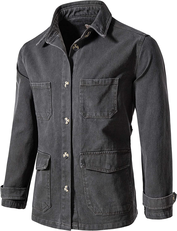 Women's casual denim jacket long section laced coat