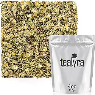 Tealyra - Healing Meadow - Chamomile - Spearmint - Lemon Verbena - Herbal Loose Leaf Tea - Calming and Relaxing Tea - Caffeine-Free - 100% Natural Ingredients - 112g (4-ounce)