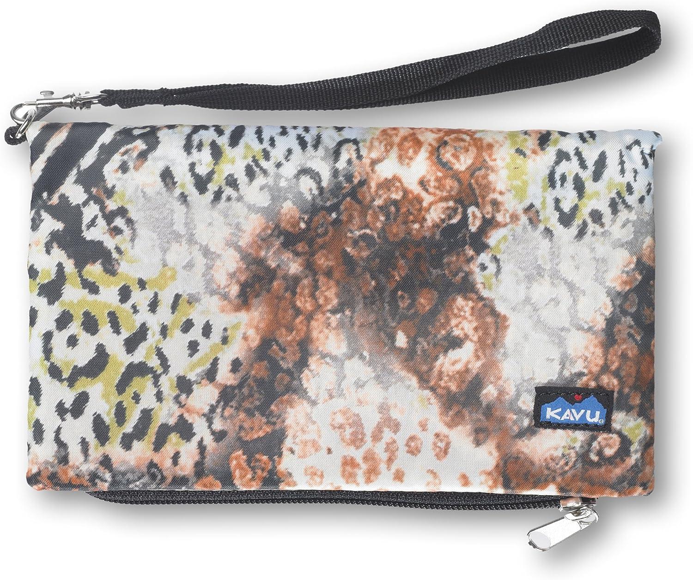 KAVU Clutch-n-go Wallet, Jungle Print, One Size