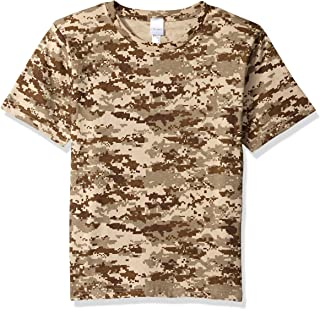 Clementine Big Boys' Outdoor Camouflage T-Shirt
