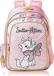 حقائب مدرسية للبنات TRBT258B من ديزني، متعددة الألوان، حقيبة ظهر 40.64 سم