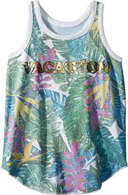 Super Soft Tropical Vacation Tank Top (Little Kids/Big Kids)