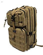 DDT VETERAN OWNED AND OPERATED Death Dealer Tactical Venom 48 Hour Assault Pack, Tan