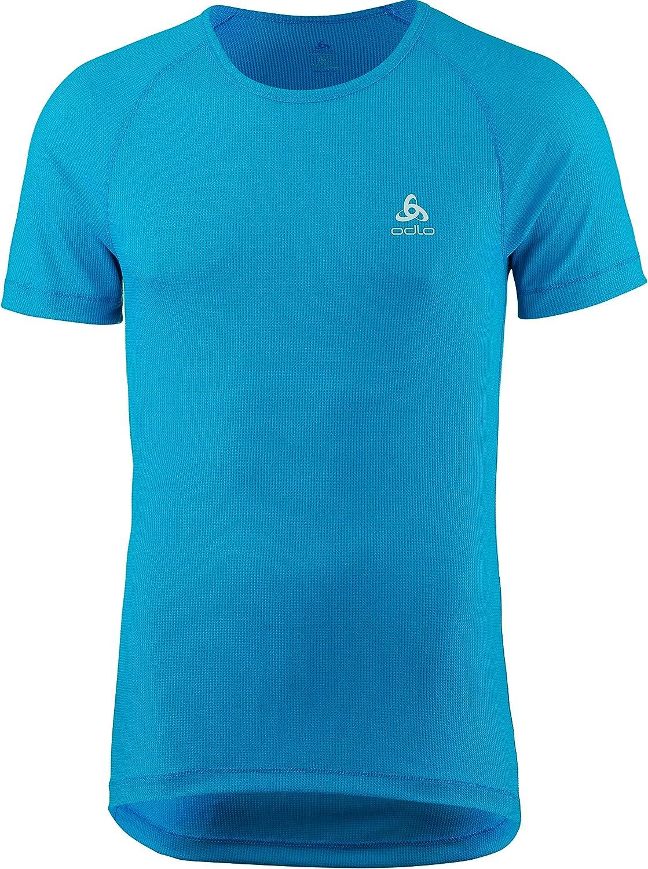 Girocollo Odlo Cubic t-Shirt da Uomo a Maniche Corte