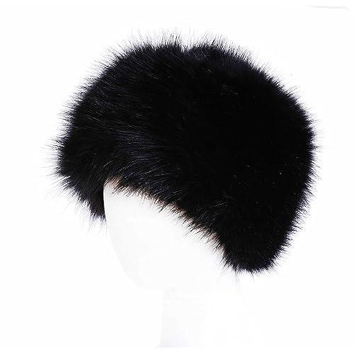 cc180646475 Soul Young Women s Winter Faux Fur Cossak Russian Style Hat