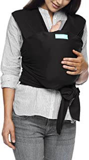 Moby Classic Baby Wrap (Black) – Baby Wearing Wrap for Parents On The Go-Baby Wrap..