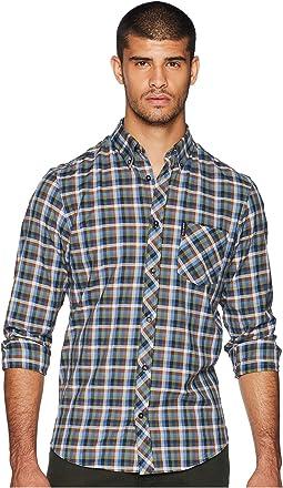 Long Sleeve Multicolored Gingham Shirt