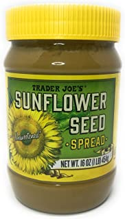 Trader Joe's Unsweetened Sunflower Seed Spread