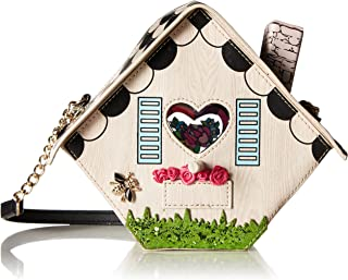 Tweet Home Birdcage Bird House Crossbody