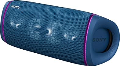 Sony SRS-XB43 EXTRA BASS Wireless Portable Speaker IP67 Waterproof BLUETOOTH and Built In Mic for Phone Calls, Blue