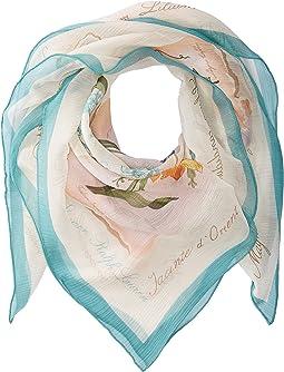 LAUREN Ralph Lauren - Loreta Silk Square Scarf
