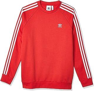 adidas Men's 3-stripes Crew Sweatshirt