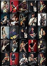 Guitarist Puzzle for Adults 1000 Piece, Memorize The Greatest Guitarists with Friend, Guitarist Collage Puzzle Unique Artw...