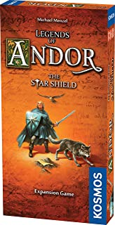 Thames & Kosmos Legends of Andor The Star Shield Expansion   Cooperative Strategy Adventure Board Game