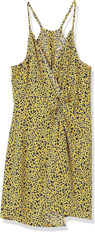 BCBGeneration Women's Faux Surplice Mini Dress