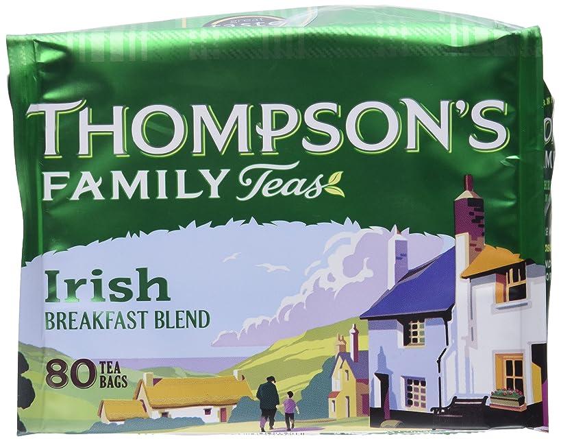 Punjana Tea Ltd Tea, Irish Breakfast, 80-Count (Pack of 4)