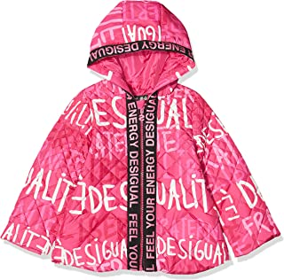 Desigual Coat Ciruela Abrigo para Niñas