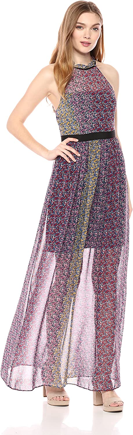 BCBGeneration Womens Floral Maxi Dress Special Occasion Dress