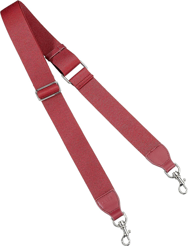BREE Collection Ci 901, Brick Red sh. Nickel, Strap 4cm, Women's Bag Organiser, Red (Red Shiny Nickel), 0.01x4x136 cm (W x H L)