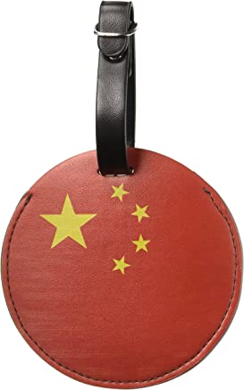 Graphics & More the People's Republic of China National Country Flag Round, Negro, Talla única