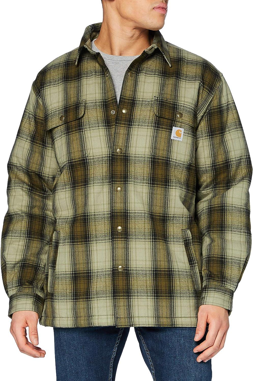 Carhartt Herren Hubbard Sherpa Lined Jac Shirt Jacket