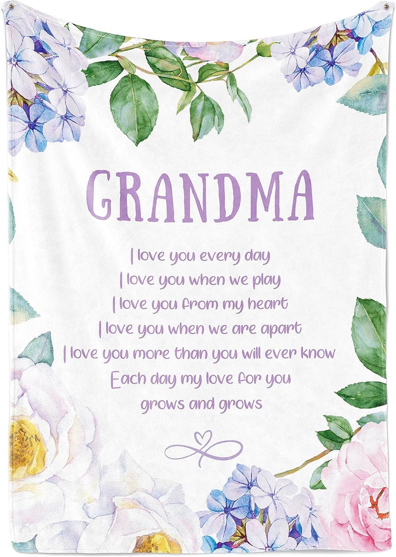 INNObeta Grandma Throw Blanket - Free shipping Blankets Rare Gran Nana for Flannel
