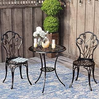 patio furniture 3 piece set