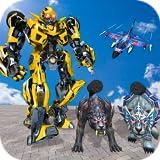 multi robô transformar batalha, cão policial, tigre e gato selvagem, transformando guerra, bots de resgate de robô, tanques de guerra vs robô lutar, traço de desastre, mundo robô de boxe, guerra livre melhores robôs, dia de sobrevivência, robôs mech