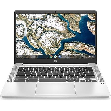 "HP Chromebook 14a-na0005ns - Ordenador portátil de 14"" FullHD (Celeron N4020, 8GB de RAM, 128GB Emmc, Intel Uhd Graphics, sistema operativo Chrome OS ) Plata - teclado QWERTY Español"
