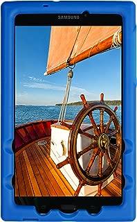 BobjGear Bobj Rugged Tablet Case for Samsung Galaxy Tab A 8.0 (2017) (SM-T380) - BobjBounces Kid Friendly (Batfish Blue)