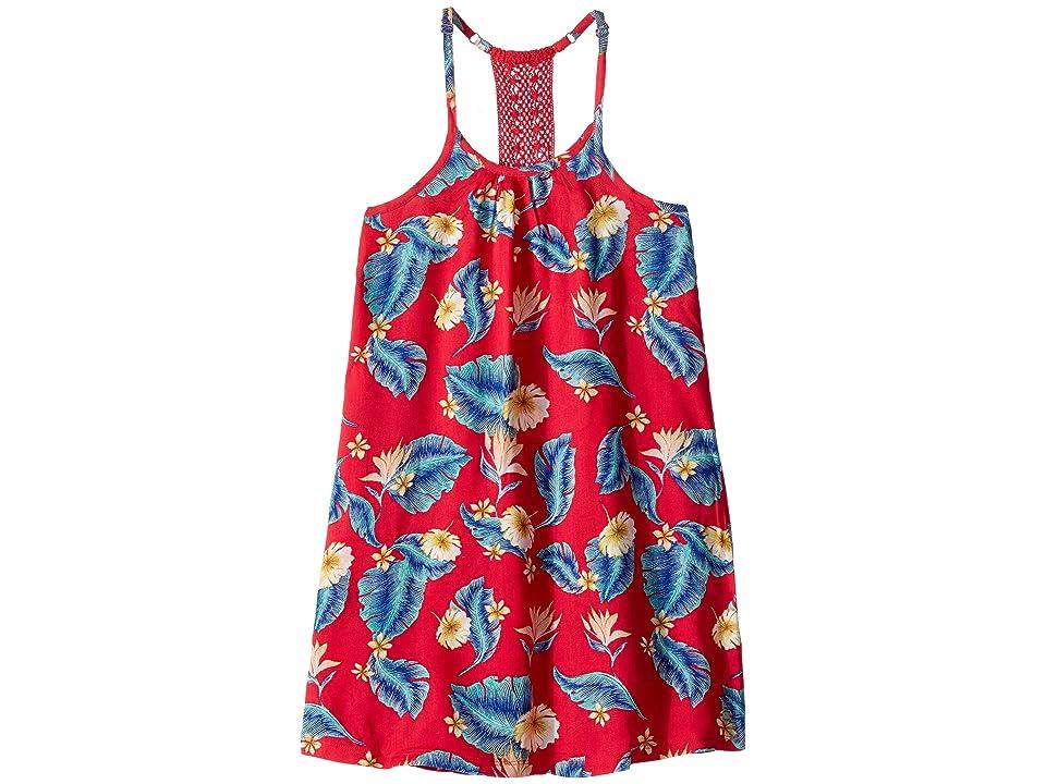 Roxy Kids Exotic Nature Dress (Big Kids) (Barberry Tropical Love) Girl