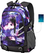 MOGGEI Backpack for School Bookbag College Student Travel Business Hiking Fit Laptop Up to 15.6 Inch