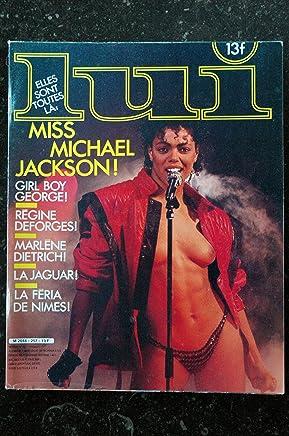LUI 257 JAGUAR MISS MICHAEL JACKSON NUE CHARME PHOTO JEFF DUNAS NEWMAN EROTIQUE