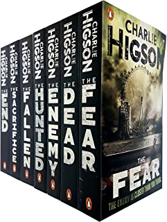 Enemy Book Series Charlie Higson Collection 7 Books Set (The Enemy, The Dead, The Fear, The Sacrifies, The Fallen, The Hunted, The End )