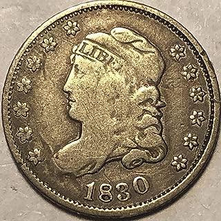 1830 P Capped Bust US Half Dime Fine