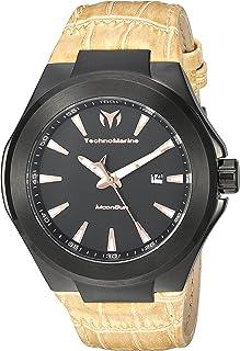 Technomarine Men's MoonSun Quartz Watch with Stainless-Steel Strap, Beige, 26 (Model: TM-117016