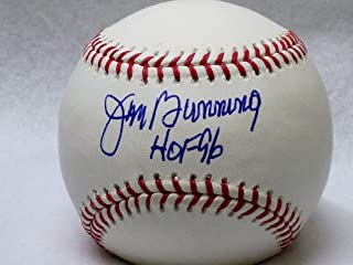 "JIM BUNNING Autographed Baseball with ""HOF 96"" (JSA)"