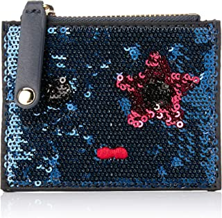 Tommy Hilfiger Women's Sequinned Mascot Coin Purse, Blue, One Size