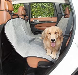 Grey Universal Waterproof Hammock Back Seat Cover By Majestic Pet Products