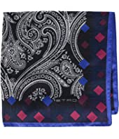 Etro - Diamond Border Pocket Square