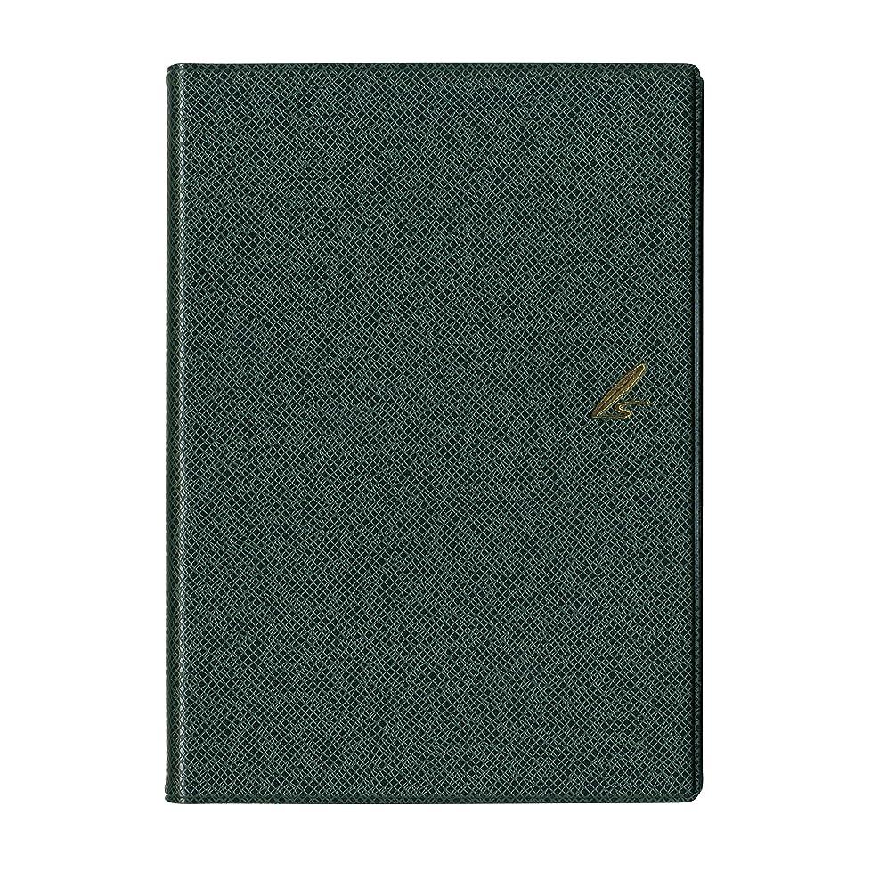 見出し誤解を招くまどろみのある佐々木印刷 手帳 2019年 1月始まり B6 3年連用 グリーン B619G