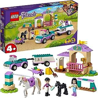 Zestaw konstrukcyjny LEGO® Friends 41441 Szkółka jeździecka i przyczepa dla konia; w pudełku Stephanie i Emma LEGO Friends...