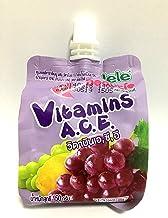Jele Carrageenan Fruit Juice 150 ml(5.3 Oz.) (Mixed Fruit)